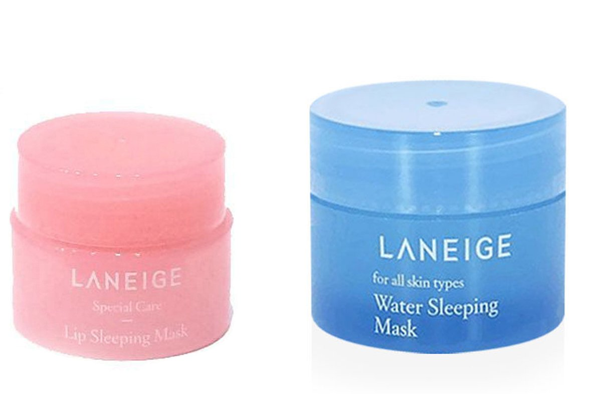 Laneige Water Sleeping Mask 15ml & Lip Sleeping Mask 3g Set