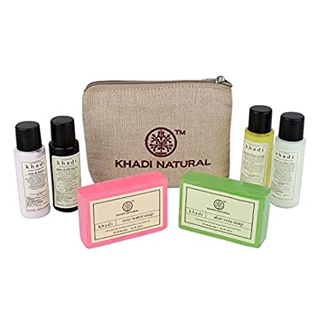Buy Khadi Natural Travel Kit Online At Low Prices In India Amazon In