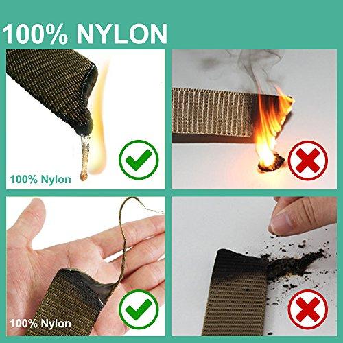 3ZHIYI Plástico Hebilla Nylon Mens Cinturones De Estilo Militar Ligero 49,2