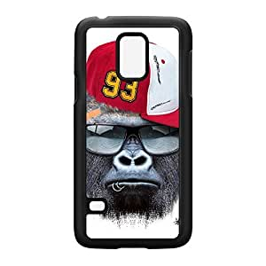 Gorilla withCap Black Hard Plastic Case for Samsung? Galaxy S5 Mini by Gangtoyz + FREE Crystal Clear Screen Protector