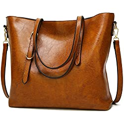 Womens Designer Satchel Purses and Handbags Ladies Tote Bags Shoulder Bags by AILLOSA