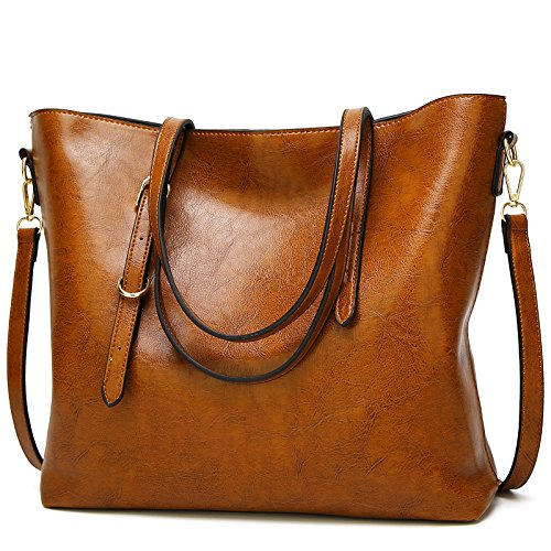 Brown Tote a Shoulder Brown TcIFE Bags Designer Women for Satchel Ladies Handbags 4qUw0Hv