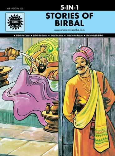 5 in 1: Stories of Birbal (Amar Chitra Katha 5 in 1 Series)