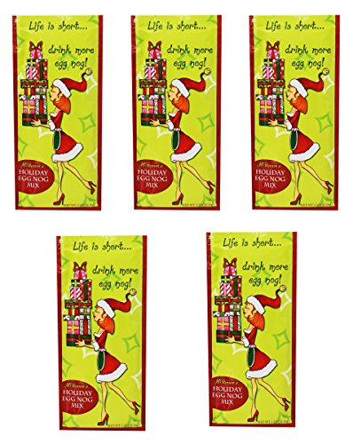 McSteven's - Holiday Eggnog Mix, 1.25 Ounce (Pack of ()