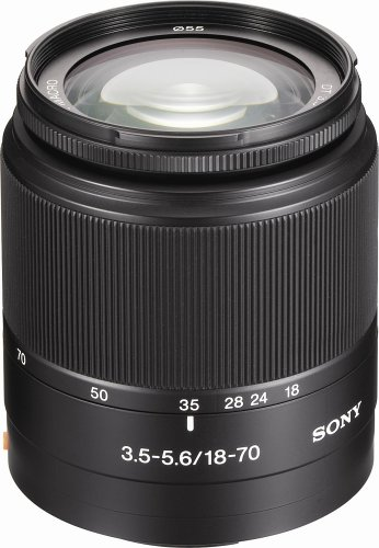 Sony DT 18-70mm f/3.5-5.6 Aspherical ED Standard Zoom Lens f