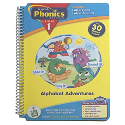 Leap Frog Phonics Book , Alphabet Adventures: Unknown: Office Products [5Bkhe0306516]