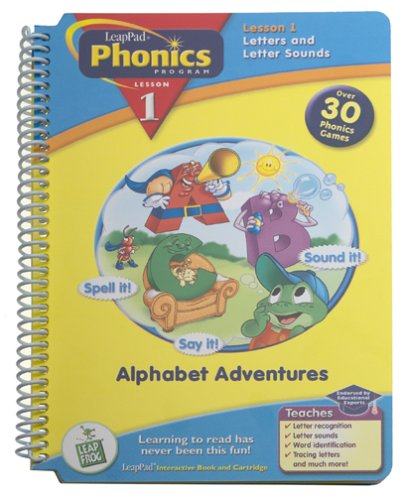 Leap Frog Phonics Book , Alphabet Adventures by LeapFrog (Image #2)