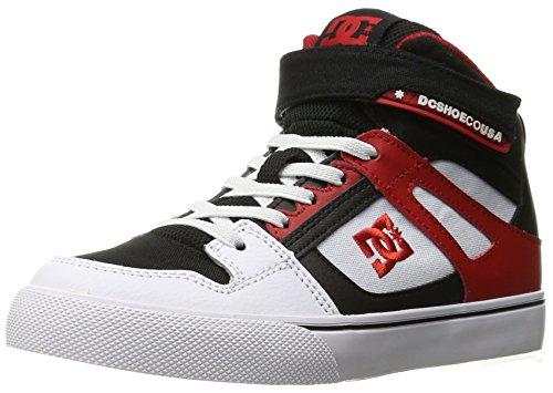 DC - Jungen Spartan Hohe Ev Schuh, EUR: 34, White/Black/Red