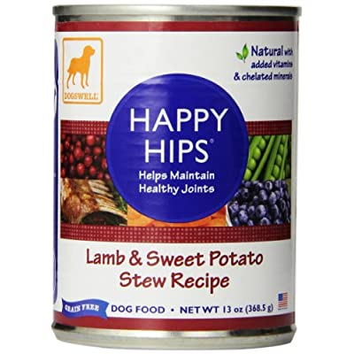 Dogswell Happy Hips Wet Dog Food with Glucosamine & Chondroitin, Adult Formula