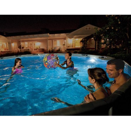 Intex Led Above Ground Pool Wall Light in Florida - 2