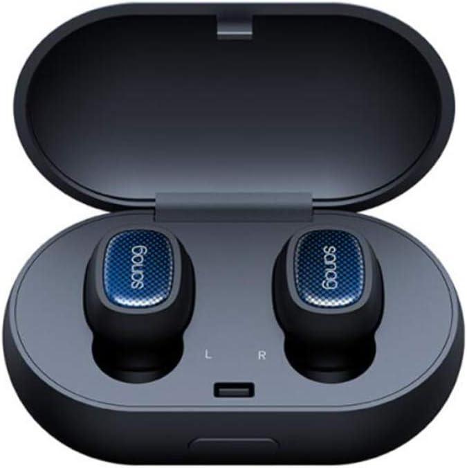 ZY Sanag T3 Mini Auricular Bluetooth Auriculares inalámbricos Auriculares intrauditivos audífonos TWS Touch 5D Auriculares estéreo con micrófono Auriculares