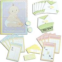 """Amscan Delightful Game Kit Baby Shower Party Favores de la novedad, 11.7 x 12 """", Múltiples"""
