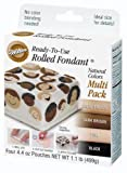 Wilton Natural Colors Fondant,  Multi Pack