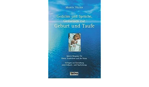 Gedichte Und Sprüche Gedanken Zur Geburt Und Taufe Marita