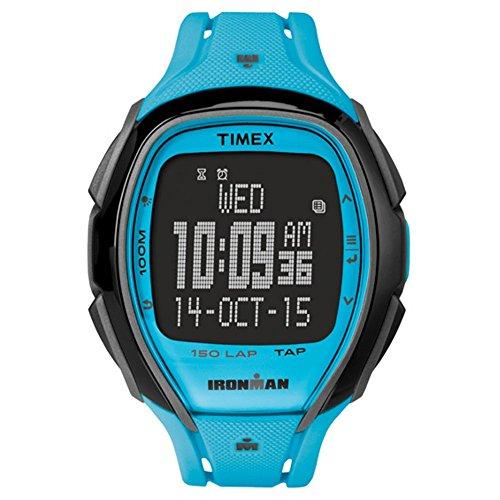 Timex Ironman Sleek 150 Unisex Watch - Neon Blue