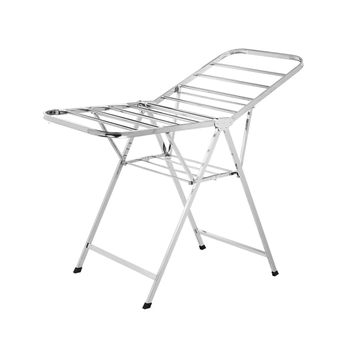 Folded Clothes Racks/Stainless Steel Plus Clothes Drying Racks/for Indoor and Outdoor, Balcony XIN XIN EU