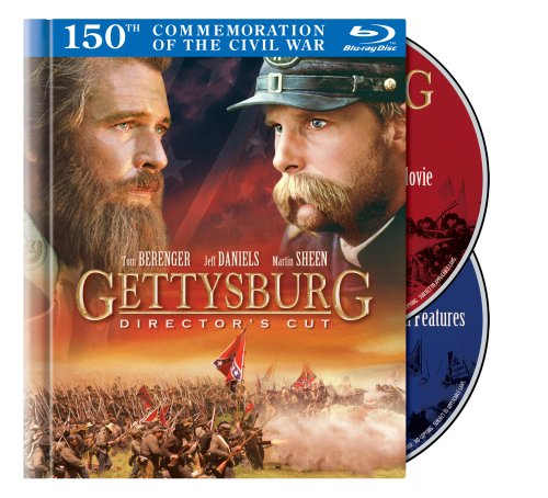 Blu-ray : Gettysburg [1993] [WS] [Director's Cut] [Digibook] [2 Discs] (Director's Cut / Edition, Widescreen, , Dolby, AC-3)