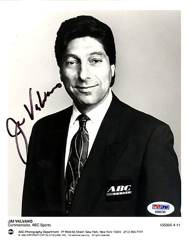 7a0c6446 Jim Valvano Signed 7x9 Photo N.C. State Wolfpack - PSA/DNA Authentication -  Basketball Collectible