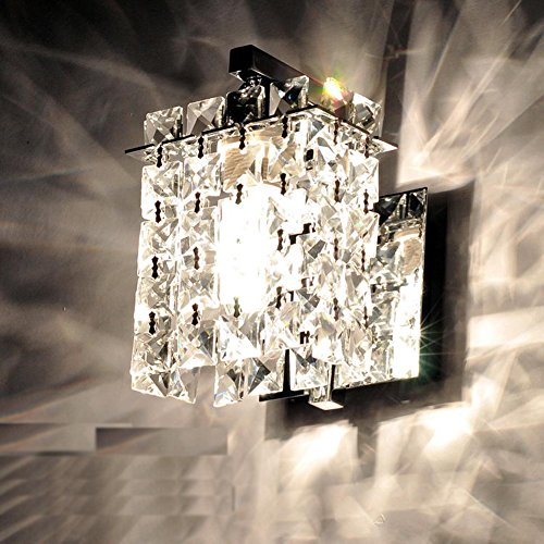 Jorunhe Modern Crystal LED Wall Lights Aisle/Bedside/Bar lights Wall Sconce by Jorunhe (Image #1)