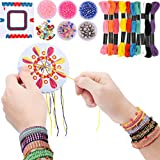 7TECH Premium Friendship Bracelet Maker 2 Packs Jewelry Kit (Deep Color)
