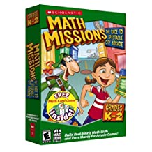 Math Missions Grades K-2 With Free Math Card Game