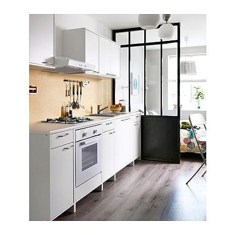 Ikea Fyndig  Unterschrank Für Backofen Weiß/ Grau 63X60X86 Cm
