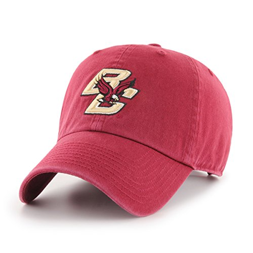 OTS NCAA Boston College Eagles Women's Challenger Adjustable Hat, Cardinal