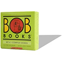 Bob Books - Complex Words Box Set | Phonics, Ages 4 and up, Kindergarten, First Grade (Stage 3: Developing Reader)
