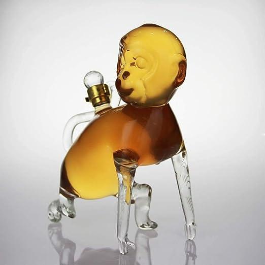 QSSQ 1000Ml Mono Decanter De Bourbon, Whisky, Vodka, Ron ...