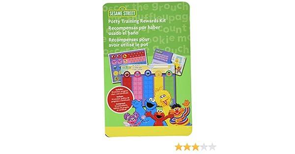 Potty Training Rewards Kit NEW by Ginsey FREE SHIPPING Sesame Street