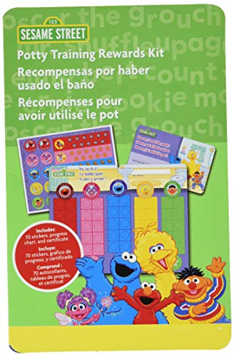 (Sesame Street Potty Training Rewards Kit)
