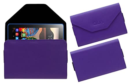 Acm Pouch Case Compatible with Lenovo Tab3 8 Tablet Flip Flap Cover Purple Bags,Cases   Sleeves