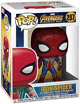 Vinilo 287 Marvel Los Vengadores Infinito Guerra Araña De Hierro 9 Cm Funko Pop