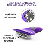 Hertzko-Pin-Brush-for-Dogs-and-Cats-with-Long-or-Short-Hair-Great-for-Detangling-and-Removing-Loose-Undercoat-or-Shed-Fur-Ideal-for-Everyday-Brushing