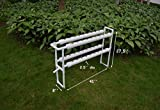 Hydroponic Site Grow Kit 36 Ebb and Flow Deep Water Culture with 36 Nest Basket