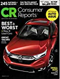 img - for Consumer Reports Annual Auto Issue - April 2017 book / textbook / text book
