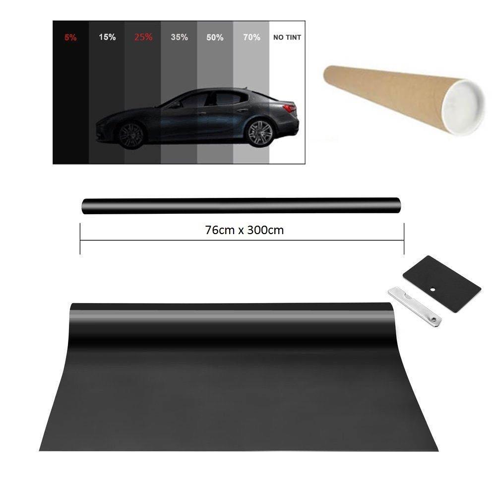 Promo Link precortadas Luz Negro 5/% 76/x 300/cm/ /Pantalla Auto Ventana Protector Solar