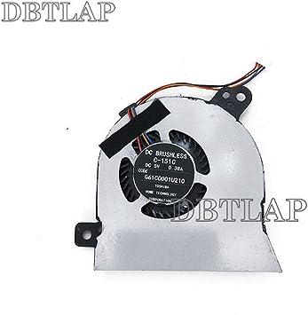 DBTLAP Ordenador Portátil CPU enfriamiento Ventilador Compatibles para Toshiba Tecra Z40-A C-151C G61C0001U110 G61C0003D 110 G61C0001U210 FHA0-A00: Amazon.es: Electrónica