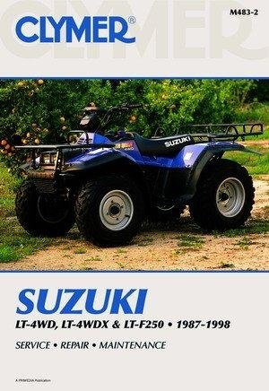 amazon com clymer repair manual for suzuki atv lt f500f 98 00 rh amazon com 1998 suzuki quadrunner 500 service manual suzuki quadrunner 500 service manual
