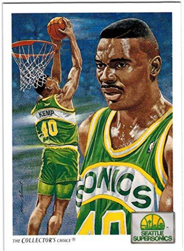 1991-92 Upper Deck Seattle Supersonics Team Set with Gary Payton & 3 Shawn Kemp - 15 NBA Cards
