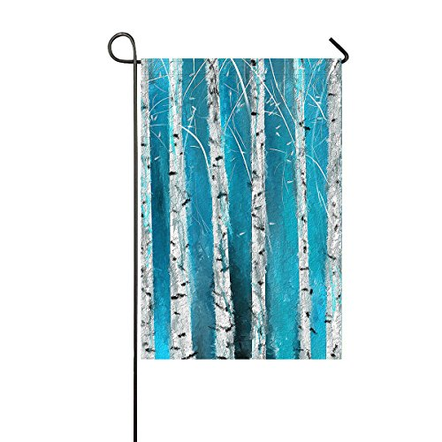 Custom Home Bathroom Winter White Fabric Birch Tree Hooks-Fo