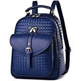 Leather Bag For Women, Blue - Fashion BackPack