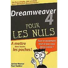 DREAMWEAVER 4 POCHE POUR LES NULS