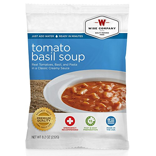 Wise Company Tomato Basil Soup with Pasta (4 Serving) from Wise Company