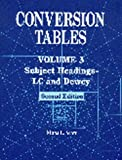 Conversion Tables, Mona L. Scott, 1563088495