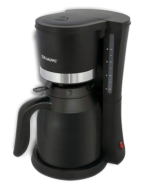 Cafetera Termo electrica de Goteo con Jarra 1 Litro 800W + Filtro ...
