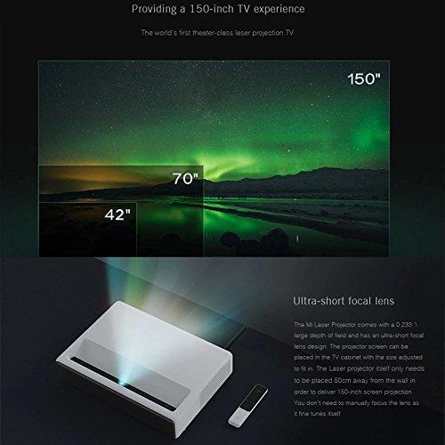 Xiaomi Ultra Short 5000 ANSI Lumens Laser Projector Ultra Short Laser  Display ALPD 150