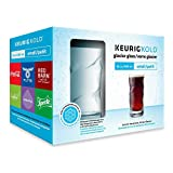 Keurig KOLD Small Glacier Glass Set, Clear