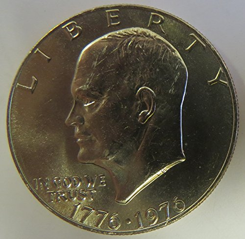 1976 Eisenhower Type 2 Dollar Choice Uncirculated
