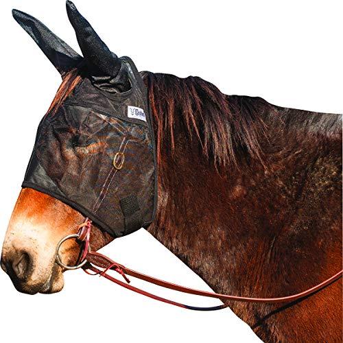 Cashel Quiet Ride Mule Fly Mask, Standard with Ears, Mule Horse/Medium Mule